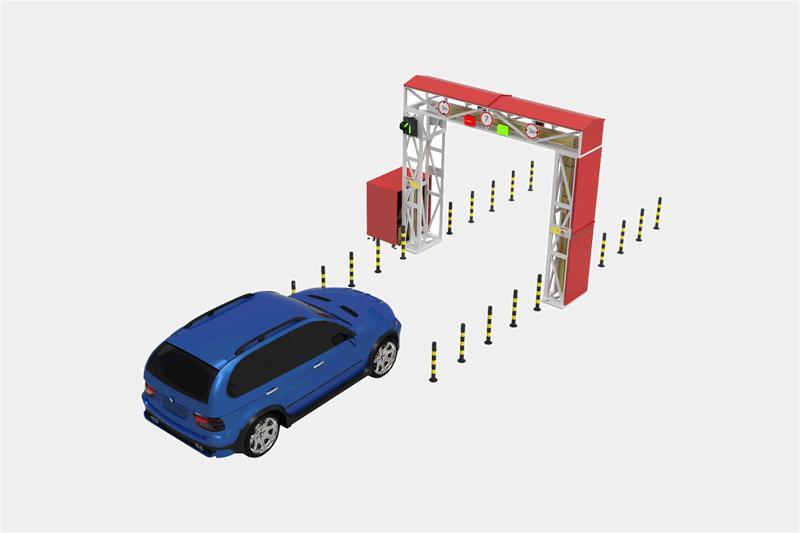 通过式小型车辆检测系统【自行式】