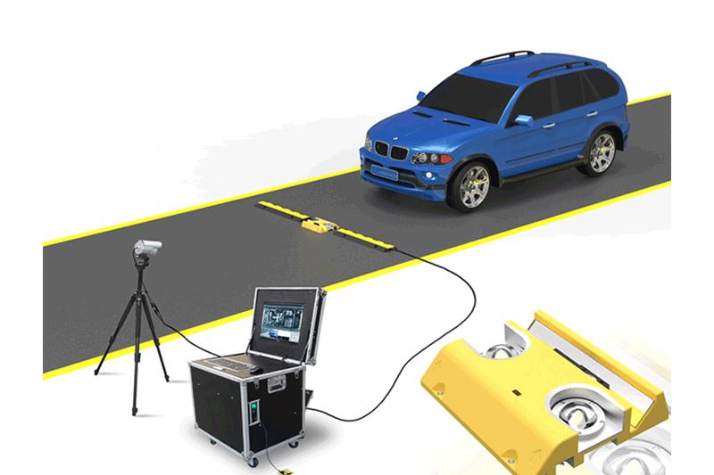 移动式车底检查系统